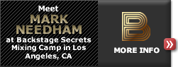Meet at Backstage Secrets Mixing Camp in Los Angeles, CA