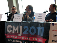 Mark at CMJ panel