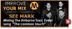 See Mark mix The Airborne Toxic Event song