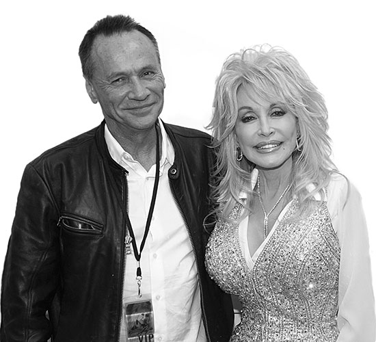 Mark Needham and Dolly Parton