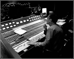 Mark Needham in the studio