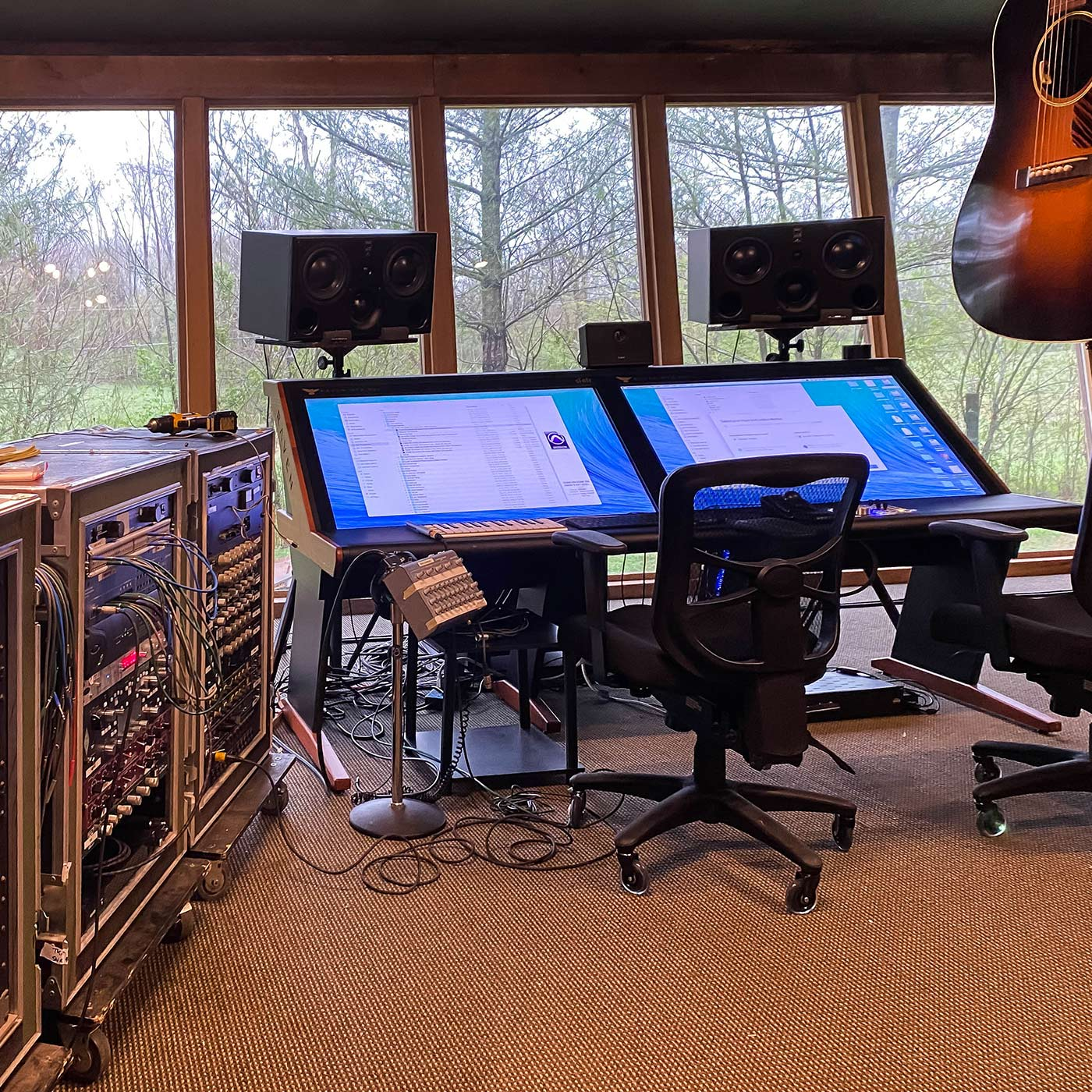 Mark Needham's private studio, Red Oak Studios